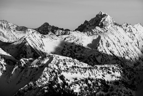 Another view of Mt. Stuart.
