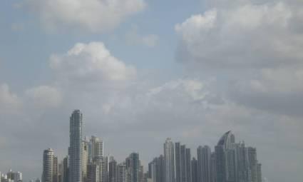 The skyline - view from Casco Viejo