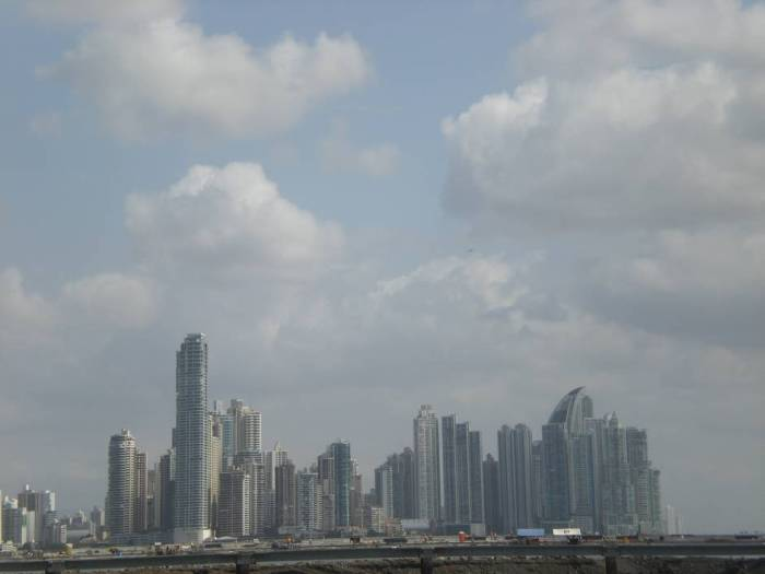 Panama attractions: the skyline - view from Casco Viejo