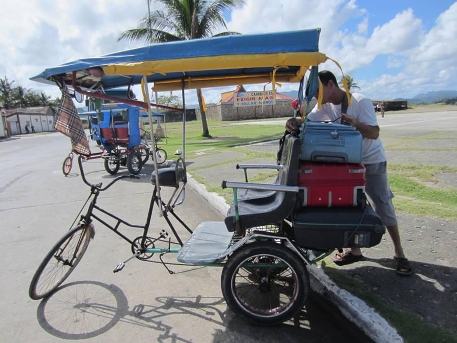 Baracoa - a bici taxi