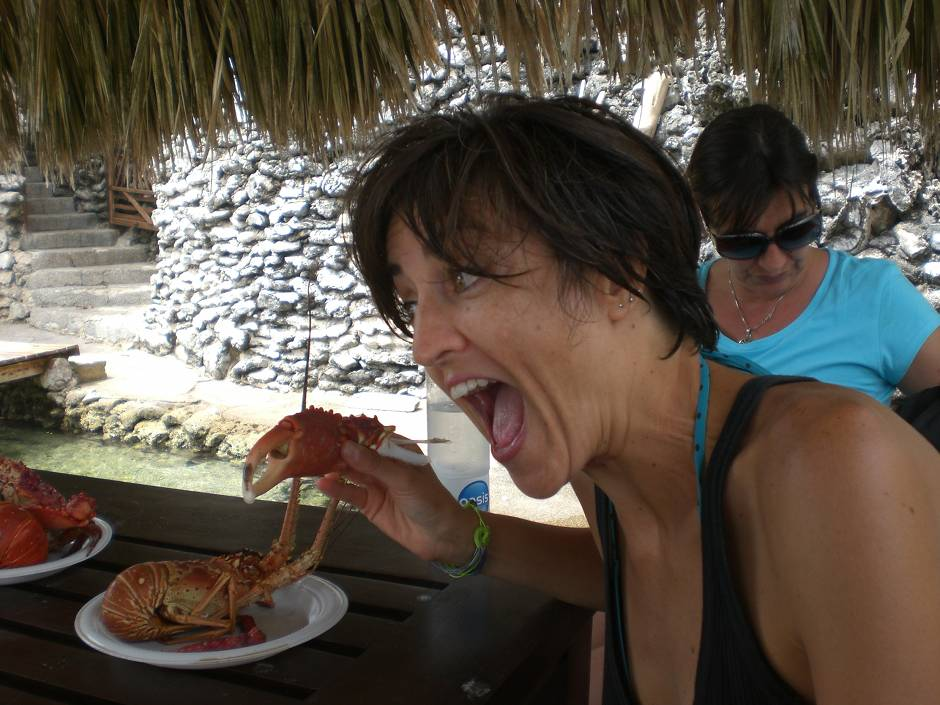 What to do in Cartagena: eat lobster, crab and patacones: 100% fresh, 100% delicious