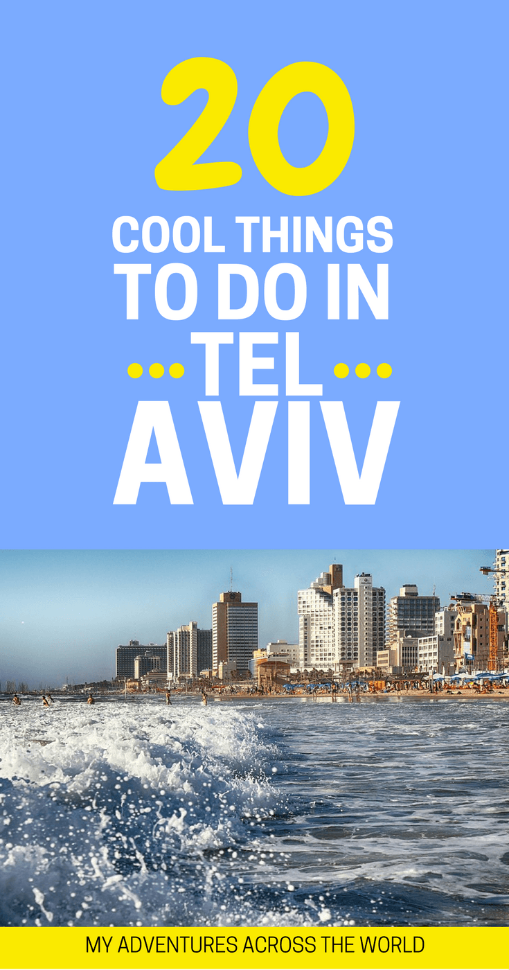 Find out the 20 things to do in Tel Aviv, Israel - via @clautavani