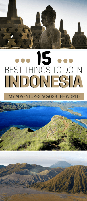 Read about the greatest things to do in Indonesia - via @clautavani