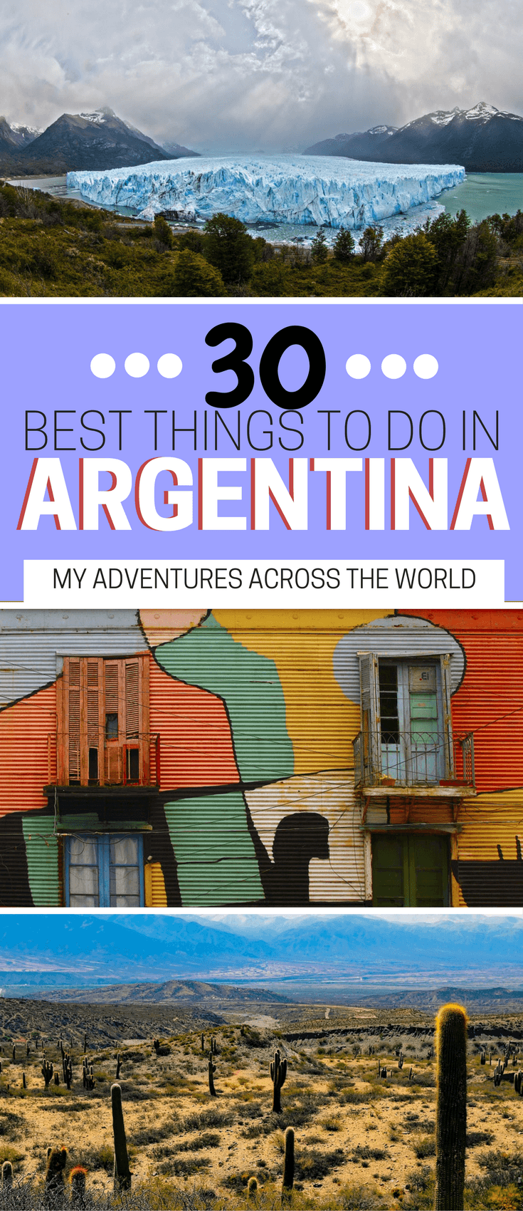 Discover the best things to do in Argentina - via @clautavani