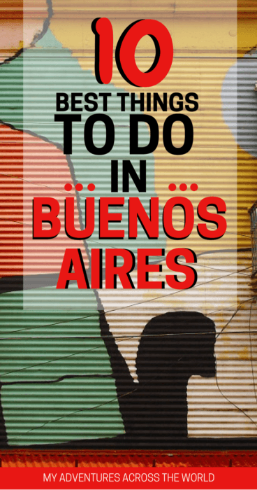 Discover the things to do in Buenos Aires - via @clautavani