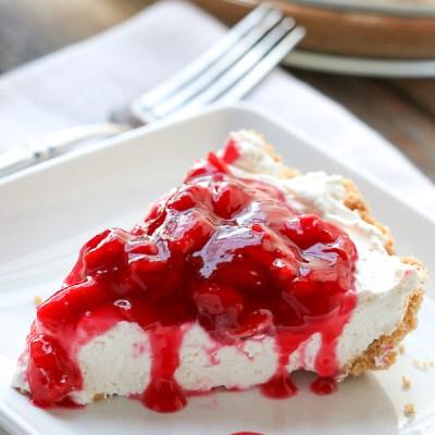 Gram's Easy Cherry Cheesecake
