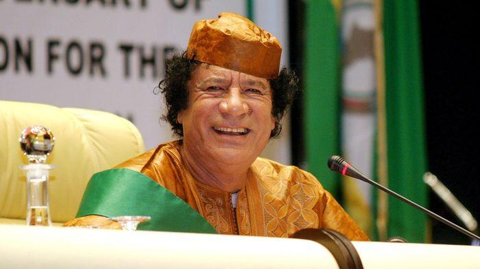 Moummar Kadhafi