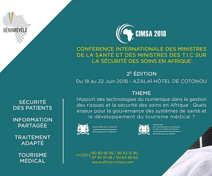 TIC et santé en Afrique : Cotonou  abrite la deuxième édition de la CIMSA