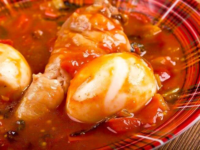 Doro wat, le poulet en sauce éthiopien!