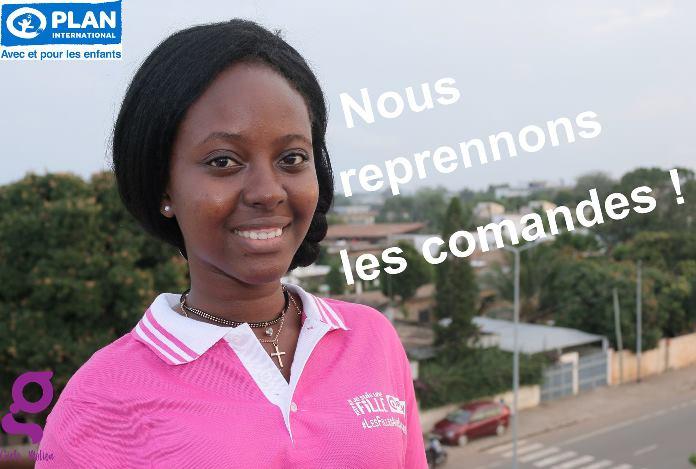 Plan International Togo,les filles aux commandes