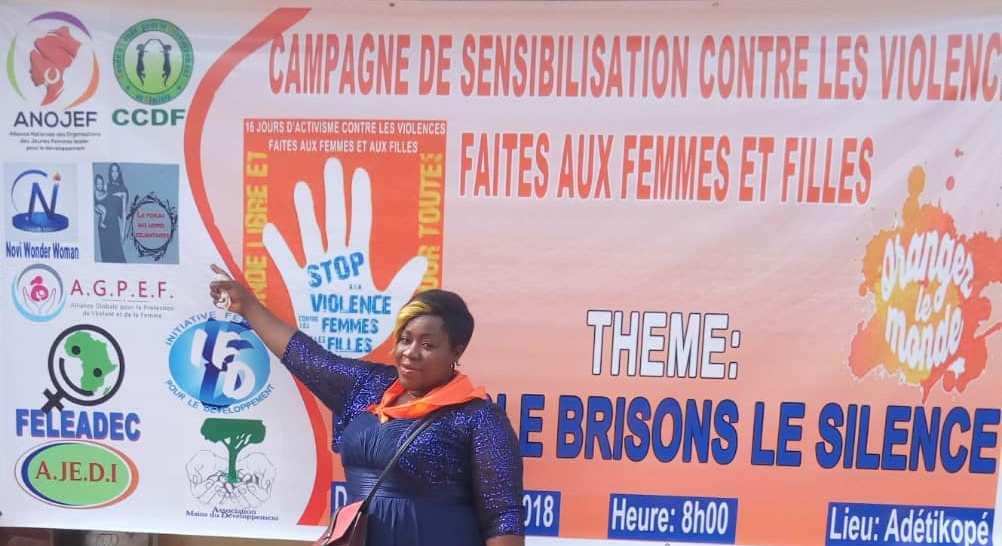 Togo/ Sensibilisation sur la lutte contre les violences faites aux femmes