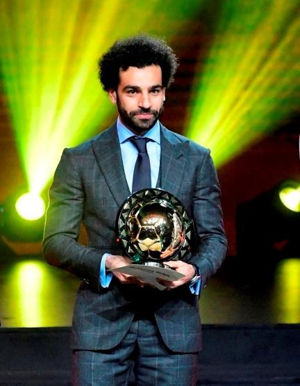 Ballon d'or Afrique: et de deux pour Mohamed Salah