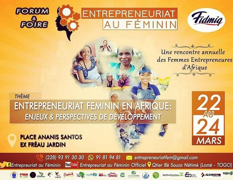 TOGO/ Lomé accueille la 2ème édition de « l'Entrepreneuriat au féminin»
