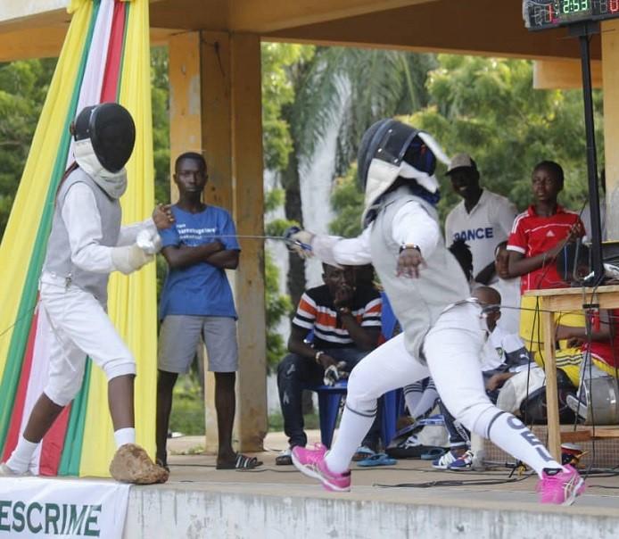 Togo/Bientôt l'ouverture d'un centre de formation des jeunes escrimeurs à Lomé