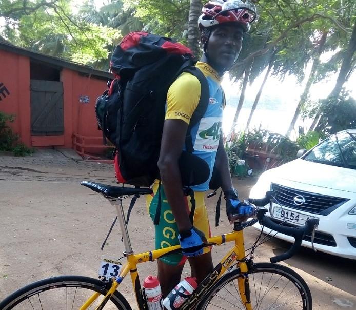 Togo / Cyclisme : Akpeko Komlan Bertrand, un jeune à l'avenir prometteur