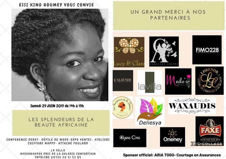 """Togo/ Rencontre: """"Les splendeurs de la beauté africaine"""" avec Essi King Houmey"""