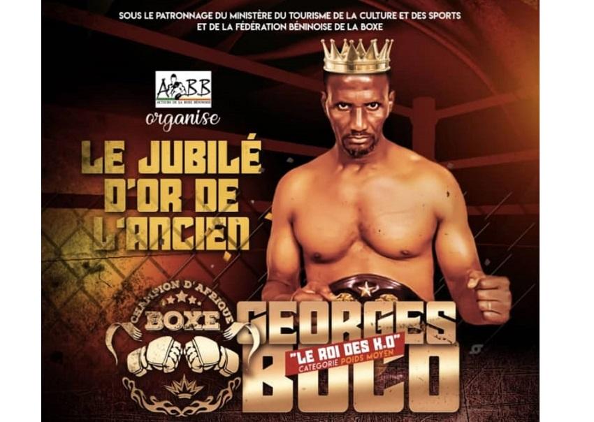 Bénin/Le Roi des KO, ancien champion d'Afrique de Boxe célèbre ses 35 ans de palmarès