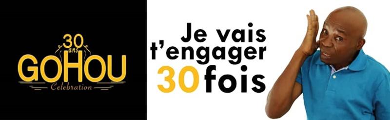 Côte d'Ivoire/ Gohou fête ses 30 ans de carrière