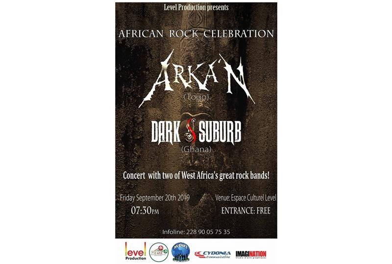 Togo/Musique: Concert inédit de Rock Africain