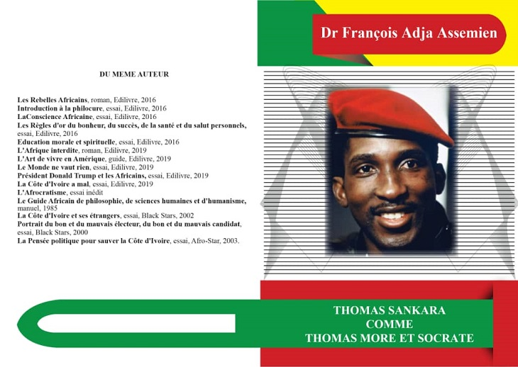 Dr François Adja Assemien relance les Etats-Unis d'Afrique
