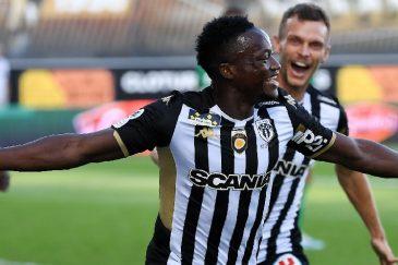 Football Ligue 1/Le Tchadien Casimir Ninga, le triplé en 10mn