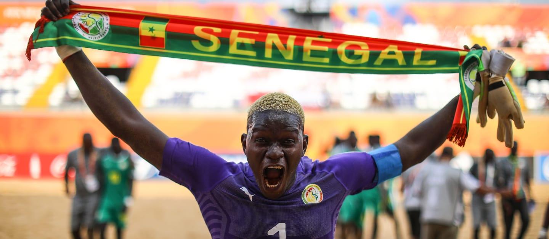 Mondial de Beach Soccer/Le Sénégal en quarts de finale