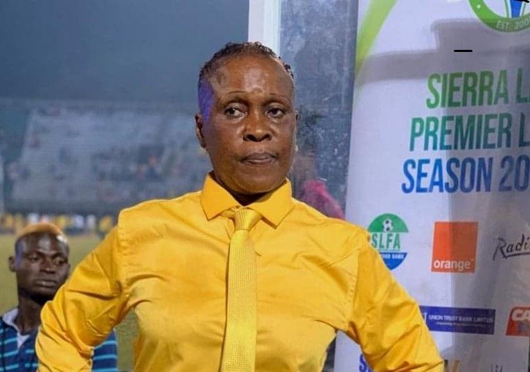 Football/Sierra Leone: Victoria Conteh 1ère femme coach en 1ére division