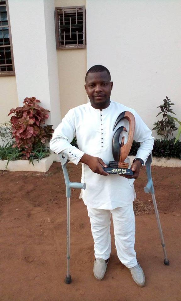 Bénin/ Marcel Candide Hinvy, la voix des personnes handicapées.