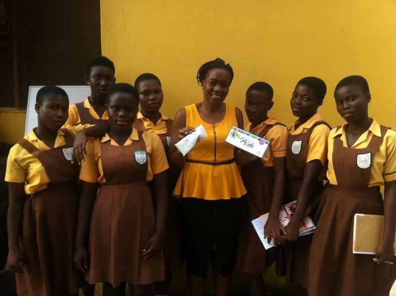 Pridepad pour les élèves au Ghana