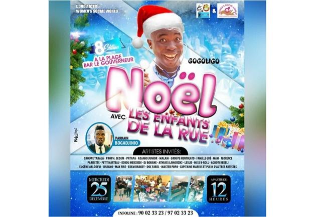 Togo/ Un Joyeux Noël pour les enfants de rue