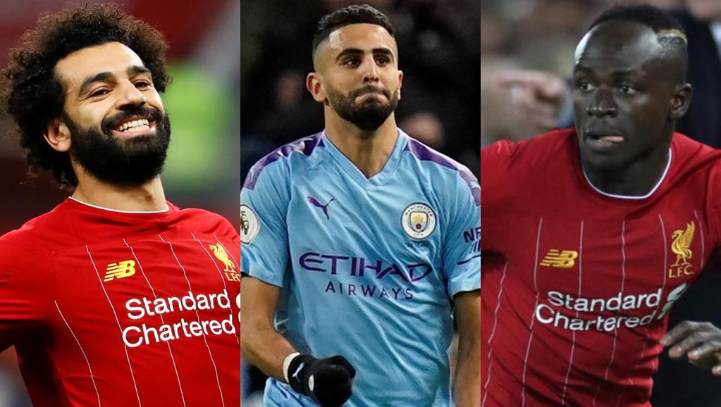 Qui pour être le Joueur africain de l'année 2019 : Mahrez, Mané ou Salah ?