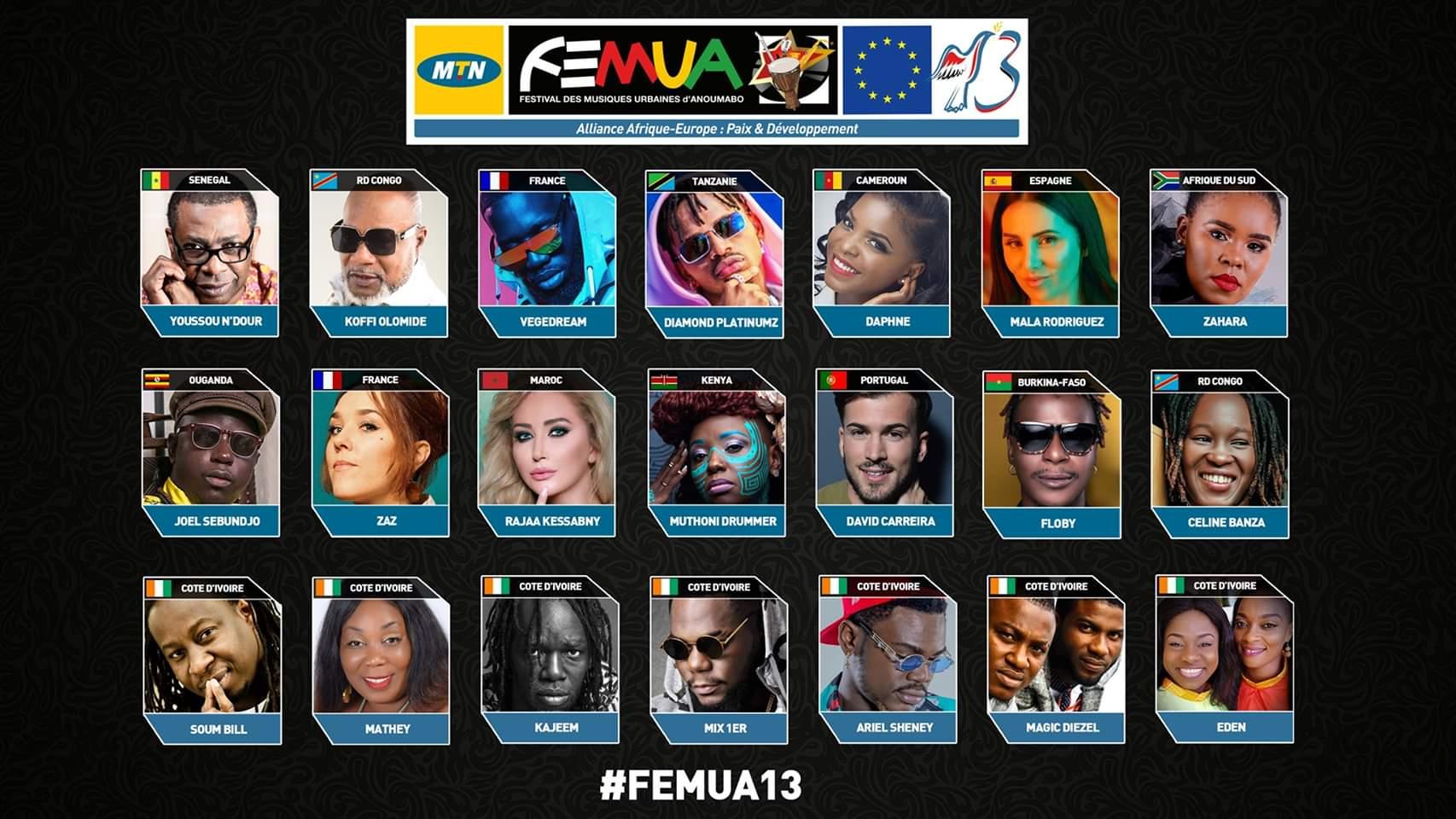 Cote-d'Ivoire : Voici la véritable raison pour laquelle le Femua est reporté