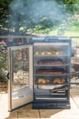 electric smoking grill