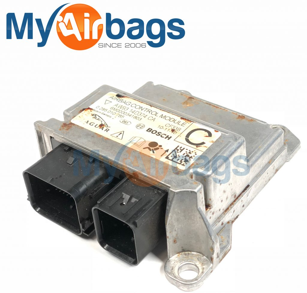 hight resolution of jaguar xjl srs airbag control module sensor part aw9314d374ca