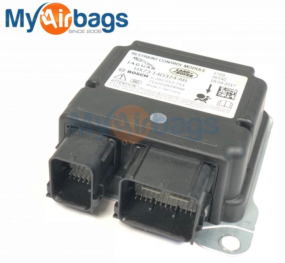 medium resolution of jaguar xf srs airbag control module