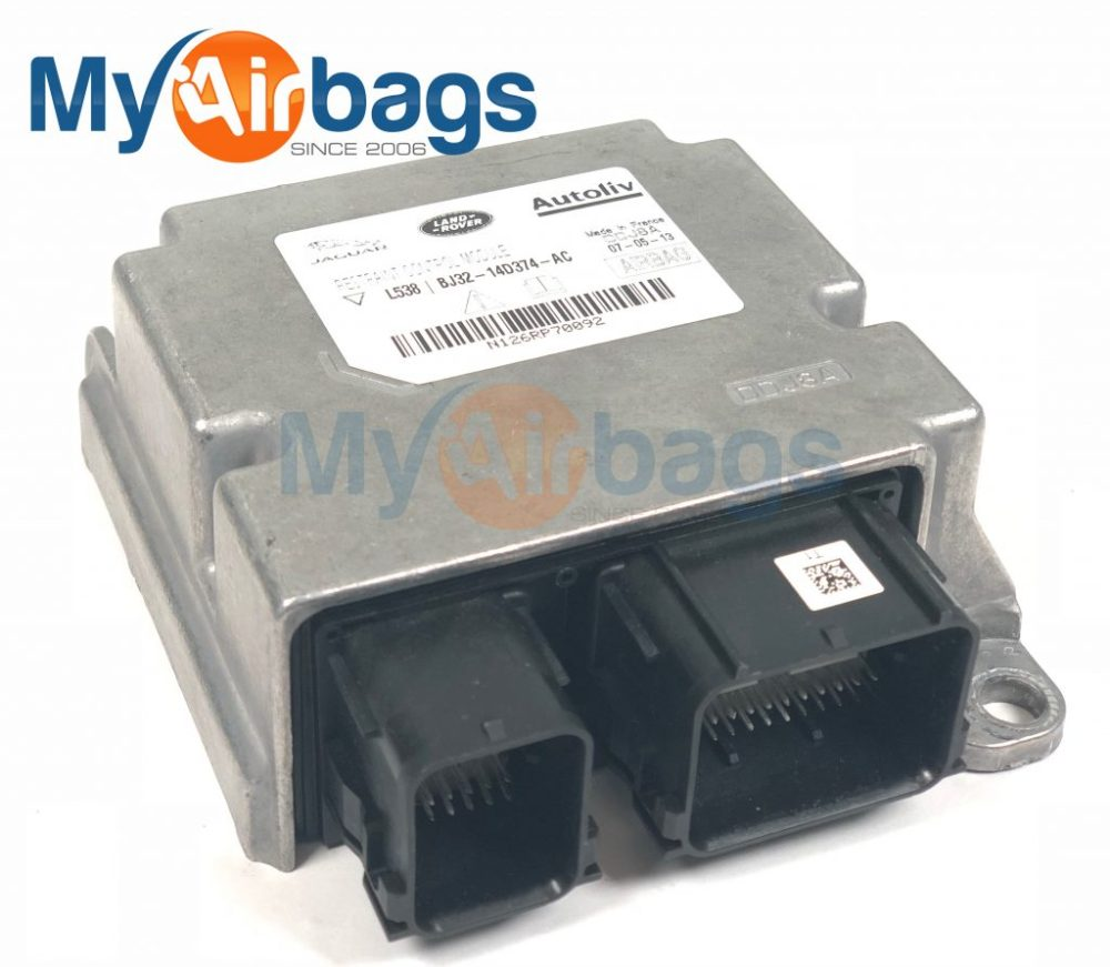 medium resolution of jaguar srs airbag control module