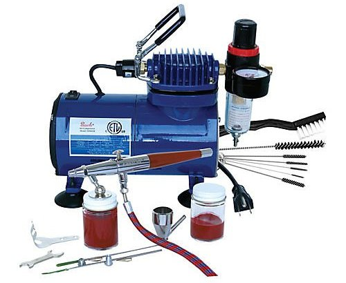 Paasche VL-100D Double Action Airbrush & Compressor Package Review