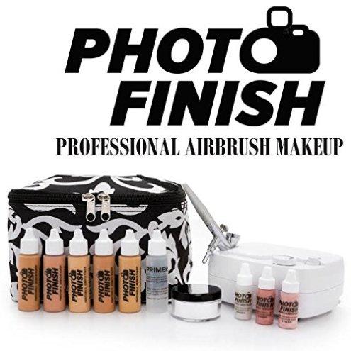 Photo finisc airbrush makeup kit review