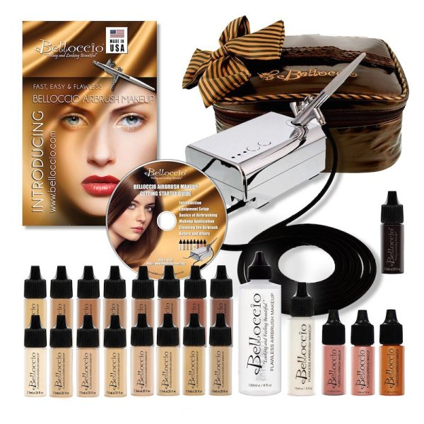 bellocio airbrush makeup kit review