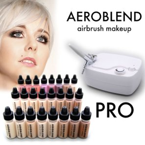 Aeroblend airbrush mekeup kit review