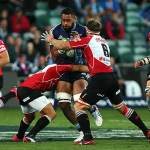 Lions secured their first Super Rugby victory