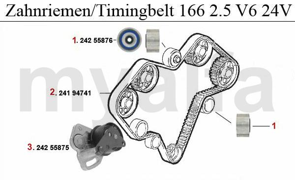 Alfa Romeo Alfa Romeo 166 Ventilsteuerung 2.5/3.0/3.2 V6