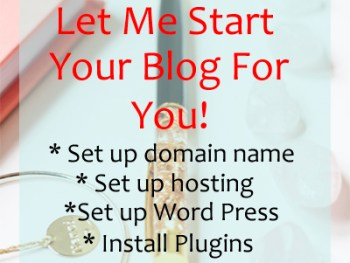 Permalink to: Let Me Start Your Blog For You