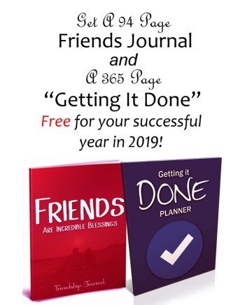 Free Journal + Getting It Done Planner