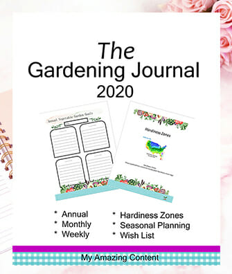 The Gardening Journal 2020