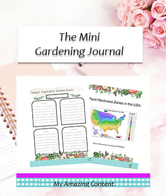 The Mini Gardening Journal