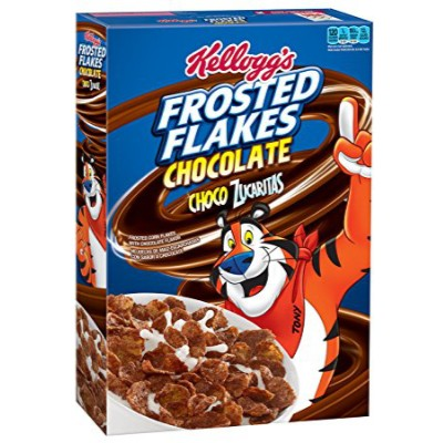 Buy KELLOGG39S FROSTED FLAKES CHOCOLATE CEREAL American