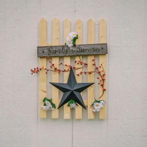 Daisy Picket Fence
