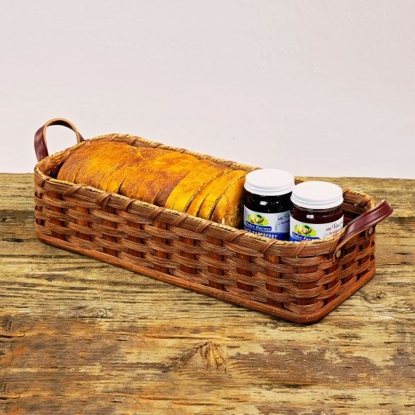 French Bread Basket Brown