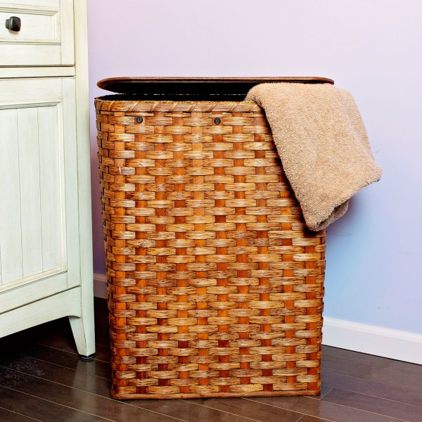 Large Hamper Brown